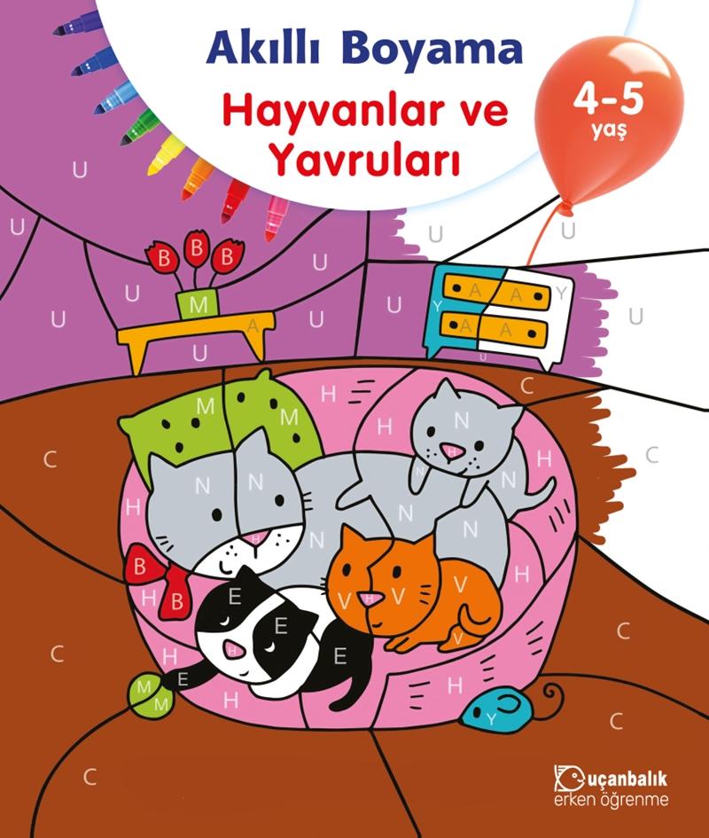 Akilli Boyama Hayvanlar Ve Yavrulari 4 5 Yas